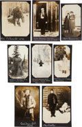 "Photography:Official Photos, Collection of Alaskan Photographs of Individuals, Including ""Soapy""Smith Gang Victim John Douglas Stewart Holding his Once-St...(Total: 8 )"