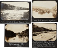 Photography:Official Photos, Photographs and Silver Gelatin Print Picturing Alaskan Rivers.... (Total: 4 )