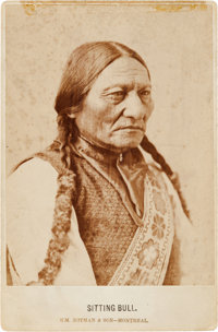 Sitting Bull: A Classic and Sharply Focused Cabinet Photo