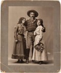 Photography:Studio Portraits, Annie Oakley and Friends: Another Spectacular White StudioPhotograph. ...