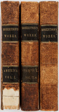 Books:World History, William Robertson. The History of the Discovery and Settlement of America. Complete in one volume. New York: Harpe... (Total: 3 Items)