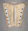 American Indian Art:Beadwork and Quillwork, A PAIR OF SIOUX BEADED HIDE LEGGINGS. c. 1900...