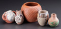 American Indian Art:Pottery, FIVE SOUTHWEST POTTERY VESSELS. Various Artists. ... (Total: 5Items)