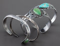 American Indian Art:Jewelry and Silverwork, FOUR NAVAJO SILVER BRACELETS. ... (Total: 4 Items)