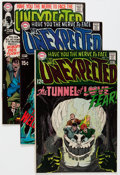 Bronze Age (1970-1979):Horror, Unexpected Group (DC, 1969-72) Condition: Average FN+.... (Total:31 Comic Books)