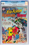 Silver Age (1956-1969):Superhero, The Brave and the Bold #54 Kid Flash, Aqualad, and Robin -Don/Maggie Thompson Collection pedigree (DC, 1964) CGC NM+ 9.6Off-...