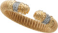 Estate Jewelry:Bracelets, Diamond, Gold Bracelet, Alwand Vahan. ...
