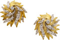 Estate Jewelry:Earrings, Diamond, Gold Earrings, Tiffany & Co., France. ...