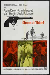 """Once a Thief (MGM, 1965). One Sheet (27"""" X 41""""). Crime"""
