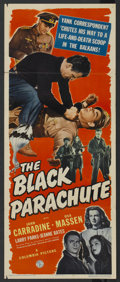"Movie Posters:Adventure, The Black Parachute (Columbia, 1944). Insert (14"" X 36"").Adventure. ..."