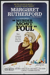 "Murder Most Foul (MGM, 1964). One Sheet (27"" X 41""). Comedy"