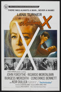 "Movie Posters:Drama, Madame X (Universal, 1966). One Sheet (27"" X 41""). Drama. ..."