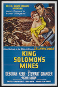 "Movie Posters:Adventure, King Solomon's Mines (MGM, R-1962). One Sheet (27"" X 41"").Adventure. ..."