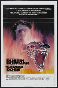 """Straw Dogs (20th Century Fox, 1971). One Sheet (27"""" X 41"""") Style D. Thriller"""