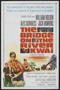 "Movie Posters:War, The Bridge On The River Kwai (Columbia, R-1963). One Sheet (27"" X41""). Academy Award Winner. ..."
