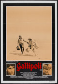 "Movie Posters:War, Gallipoli (Roadshow, 1981). Australian One Sheet (27"" X 40"").War...."