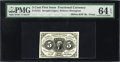 Fractional Currency:First Issue, Milton 1E5F.3b 5¢ First Issue Essay PMG Choice Uncirculated 64EPQ....