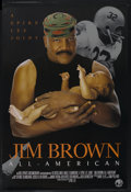 "Movie Posters:Documentary, Jim Brown: All-American (HBO Films, 2002). One Sheet (27"" X 40""). Documentary. ..."