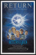 "Movie Posters:Science Fiction, Return of the Jedi (20th Century Fox, R-1985). One Sheet (27"" X 41""). Science Fiction. ..."
