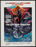 "Movie Posters:James Bond, The Spy Who Loved Me (United Artists, 1977). Poster (30"" X 40"").James Bond. ..."