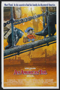 "Movie Posters:Animated, An American Tail (Universal, 1986). One Sheet (27"" X 41"").Animated. ..."