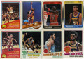 Basketball Cards:Lots, 1972-1988 Basketball Group Lot of 8. Nice group of basketballgreats on cardboard. Includes 1972-73 Topps #249 Dan Issel AS...