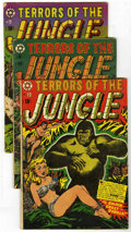 Golden Age (1938-1955):Horror, Terrors of the Jungle Group (Star, 1952-53).... (Total: 4 ComicBooks)