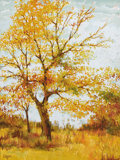 Texas:Early Texas Art - Impressionists, MARILYN EITZEN (living). The Last Autumn. Acrylic on canvas.40 x 30 inches (101.6 x 76.2 cm). Signed lower left. ...