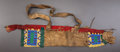 American Indian Art:Beadwork and Quillwork, A SIOUX CHILD'S BEADED HIDE QUIVER. c. 1890...