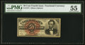 Fractional Currency:Fourth Issue, Fr. 1374 50¢ Fourth Issue Lincoln PMG About Uncirculated 55.. ...