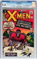 Silver Age (1956-1969):Superhero, X-Men #4 Don/Maggie Thompson Collection pedigree (Marvel, 1964) CGCNM 9.4 White pages....