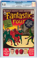 Silver Age (1956-1969):Superhero, Fantastic Four #11 Don/Maggie Thompson Collection pedigree (Marvel,1963) CGC VF/NM 9.0 Off-white to white pages....