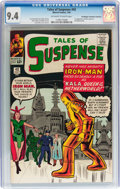 Silver Age (1956-1969):Superhero, Tales of Suspense #43 Don/Maggie Thompson Collection pedigree(Marvel, 1963) CGC NM 9.4 Off-white to white pages....