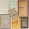 Books:Music & Sheet Music, [Music]. Sibelius, Prokofieff, and others. Seven Books of SheetMusic. Various publishers. Various editions. Original wrappe...(Total: 7 Items)