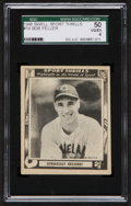 "Baseball Cards:Singles (1940-1949), 1948 Swell Bob Feller ""Strikeout Record!"" #19 SGC 50 VG/EX 4...."