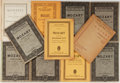 Books:Music & Sheet Music, [Music]. Mozart. Eleven Books of Sheet Music. Various Places:Various Publishers, [nd]. Various editions. Original wrapp...(Total: 11 Items)