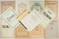 Books:Music & Sheet Music, [Music]. Bach, Haydn, Telemann, Spohr, Dittersdorf, and others. Twelve Books of Sheet Music. Includes three issues of Alte... (Total: 12 Items)