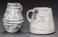 American Indian Art:Pottery, TWO ANASAZI POTTERY ITEMS... (Total: 2 Items)