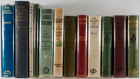 [North America]. Group of Twelve Books about North America featuring the following authors: Henry van Dyke, George Marsh...