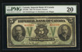 Canadian Currency: , Toronto, ON- Imperial Bank of Canada $5 Nov. 1, 1923 Ch. # 375-18-02. ...