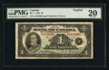 Canadian Currency: , BC-1 1935 $1. ...