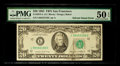 Error Notes:Miscellaneous Errors, Fr. 2075-L $20 1985 Federal Reserve Note. PMG About Uncirculated 50 EPQ.. ...