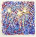 Prints, JAMES ROSENQUIST (American, b. 1933) & DAVID HOCKNEY (British, b. 1937). Fireworks for President Clinton, 1996; Go... (Total: 5 Items)