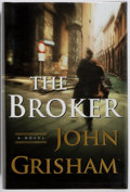 Books:Fiction, John Grisham. SIGNED. The Broker. New York: Doubleday,[2005]. First edition. Signed by the author on the title pa...