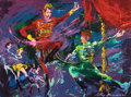 Fine Art - Painting, American:Contemporary   (1950 to present)  , LEROY NEIMAN (American, b. 1926). Russian Dancers, 1961.Acrylic on board. 24 x 31-3/4 inches (61.0 x 80.6 cm). Signed a...