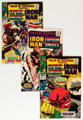 Silver Age (1956-1969):Superhero, Tales of Suspense Group (Marvel, 1967) Condition: Average VF+....(Total: 5 Comic Books)