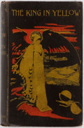 Books:Science Fiction & Fantasy, Robert W. Chambers. The King in Yellow. Piccadilly: Chatto & Windus, 1895. First edition. Publisher's printed boards...