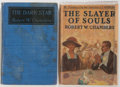 Books:Science Fiction & Fantasy, Robert W. Chambers. Two Books, including: The Slayer of Souls. New York: George H. Doran Company, 1920. First editio... (Total: 2 Items)