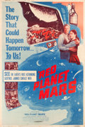 """Movie Posters:Science Fiction, Red Planet Mars (United Artists, 1952). Poster (40"""" X 60""""). Fromthe Collection of Wade Williams.. ..."""