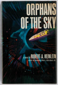 Books:Science Fiction & Fantasy, Robert Heinlein. Orphans of the Sky. New York: G. P. Putnam's Sons, [1964]. First American edition. Publisher's clot...